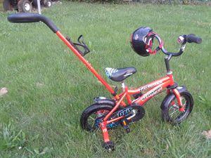 Schwinn 12in. Boys Grit bike with helmet for Sale in Philadelphia, PA