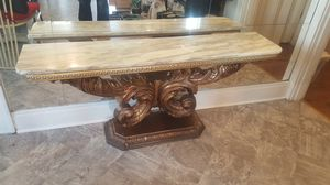 Marble top Wall Table Console for Sale in Centreville, IL