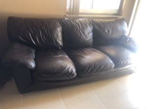 Two black couches for Sale in North Lauderdale, FL