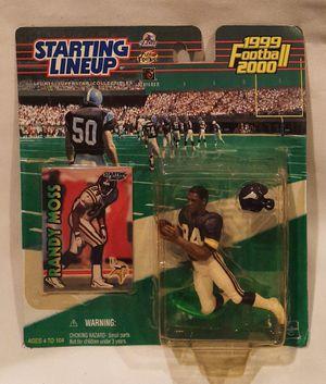 NFL Starting Lineup SLU Randy Moss Minnesota Vikings Figure 1999 2000 for Sale in San Jose, CA