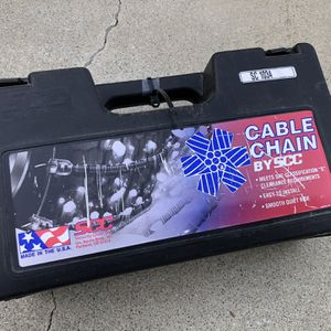 (Brand new) Security Chain Company SC1034 Radial Chain Cable Traction Tire Chain for Sale in El Monte, CA