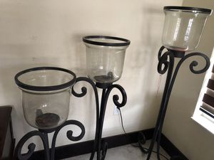 Iron candle holders for Sale in Coral Gables, FL