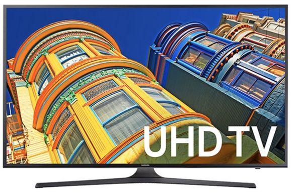 "40"" SAMSUNG 6 Series Class KU6300 4K UHD TV"