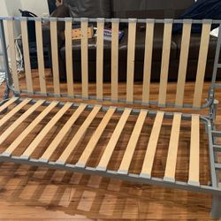 IKEA Futon Sofa Couch Queen Size Bed Frame for Sale in Los Angeles,  CA