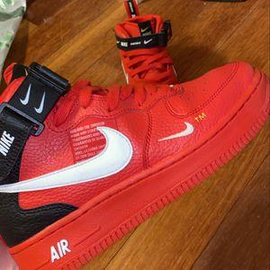 Nike Air Force 1 Low Utility Team Orange for Sale in Burien, WA