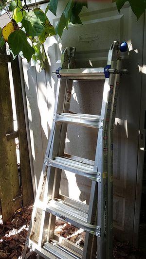 Werner ladder 22ft foldable for Sale in Toms River, NJ