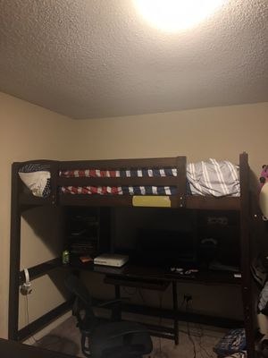 Bunk bed with hypoallergenic mattress for Sale in La Mesa, CA