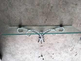 Shabby Chic Glass Shelf for Sale in Puyallup,  WA