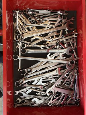 Large box of assorted wrenches for Sale in San Diego, CA