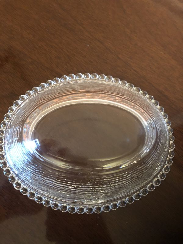 Vintage Indiana Glass Hen Candy Dish