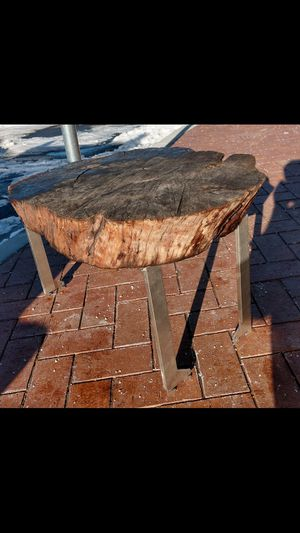 Gorgeous coffee or end table made from a matinee slab for Sale in Salt Lake City, UT