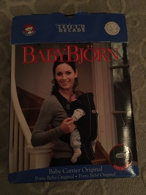 Baby Bjorn original infant carrier for Sale, used for sale  Queens, NY