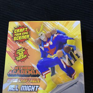 My hero Academia Mega Craftable All Might for Sale in Sloan, NV