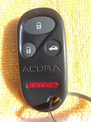 Acura remote control needs to be reprogram to your car sorry I do not reprogram asking $39.99 for Sale in Santa Ana, CA