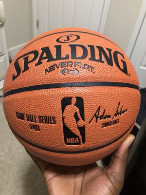 Spalding ball size 29.5 Game ball series for Sale in Manassas, VA