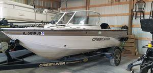2001 crestliner 1750 sportfish for Sale in Cumberland Furnace, TN