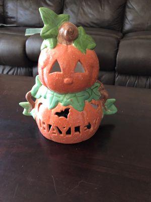 Pumpkin candle lantern Halloween for Sale in Phoenix, AZ