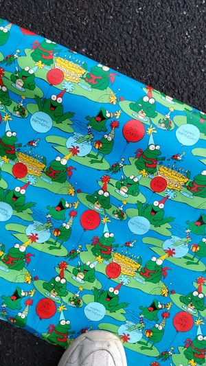 Big role of birthday wrapping paper for Sale in Orland Hills, IL