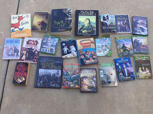 Books & DVD Videos. for Sale in Murrieta, CA