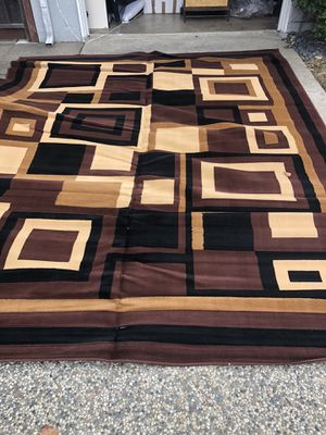 Beautiful BRAND NEW rug - never used - VERY LARGE - 9 ft x 12 feet - for Sale in San Mateo, CA