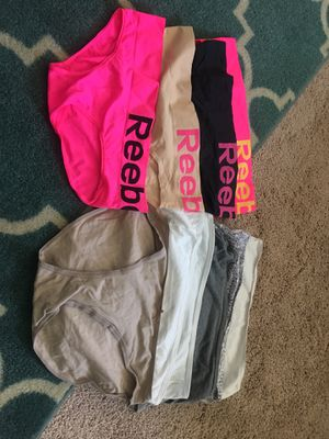 New laundered women's briefs size M Reebok, vanity fair and old navy for Sale in Nashville, TN