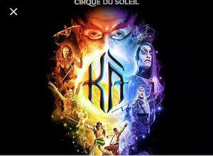 KA Cirque du Soleil Great Seats for Sale in Las Vegas, NV