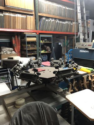 Screenprinting equipment lot!! for Sale in Garden Grove, CA