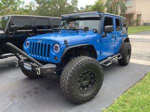 Jeep Wrangler wheels 37x12.50R17LT for Sale in Davie, FL