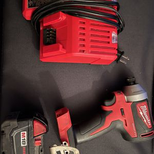 M18- Impact Driver 2850-20 Battery & Charger for Sale in Portland, OR