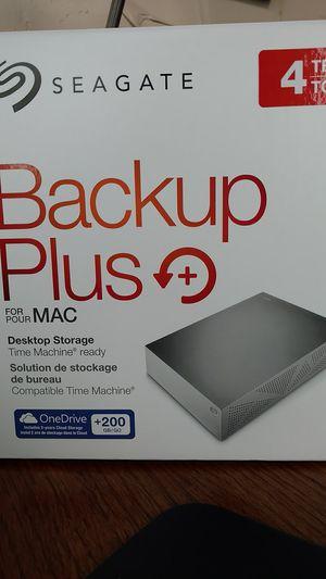 Seagate 4TB Backup Plus for MAC for Sale in Chelan, WA