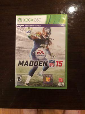 Madden 15 Xbox 360 game for Sale in Dallas, TX