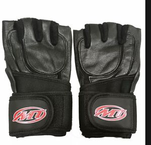 MT Weight Lifting Gloves Padded Palm Weightlifting Gym Training Workout Wraps for Sale in Woodbridge, VA