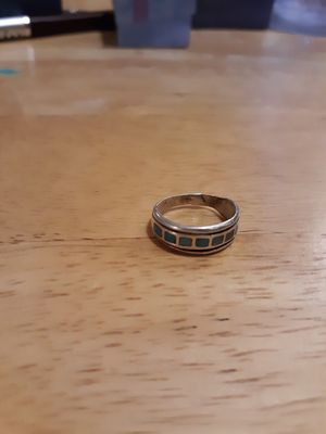 Antique turquoise silver ring for Sale in Phoenix, AZ