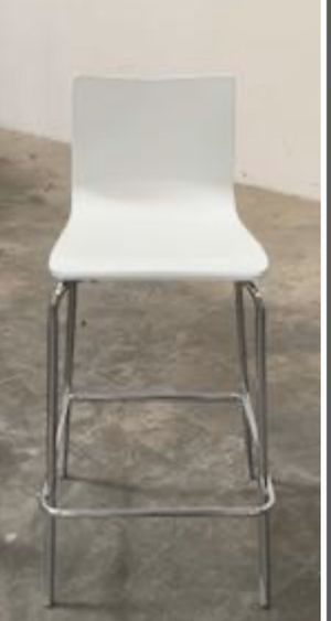 White wood bar stool qty 1 for $10.00 ea for Sale in North Las Vegas, NV