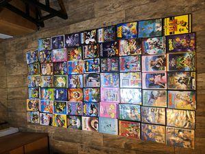 Over 60 kids cartoon DVD Madagascar, shark tale, Casper, Smurf, Shrek, etc for Sale in Stockton, CA