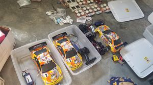 RC Racing car lot for Sale in Raleigh, NC