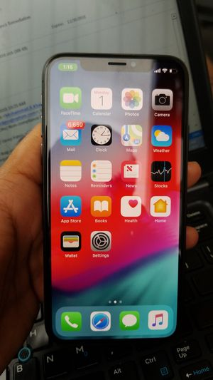 Unlocked iPhone x 64gb mint condition barley used for sale for Sale in Chicago, IL