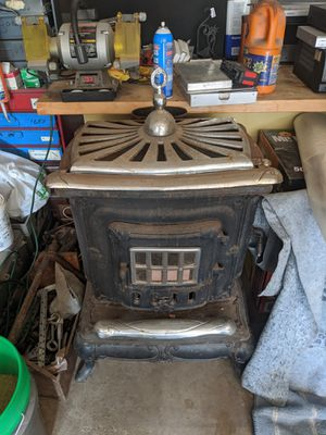 Parlor wood burning stove for Sale in St. Charles, IL
