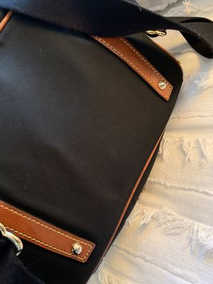 Dooney & Bourke heavy black canvas and leather backpack for Sale in West New York, NJ