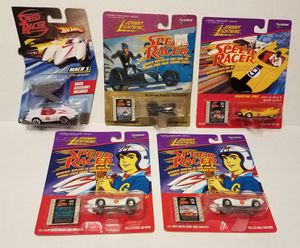 Hot Wheels and Johnny lightning speed racer Mach 5 the Assassin Racer X for Sale in Kissimmee, FL