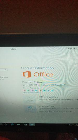 HP desktop with Windows 10 Pro office 2019 Wi-Fi for Sale in Montgomery, AL