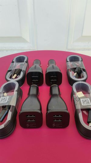 4 Original Samsung Fast Car Chargers Brand New for Sale in Lincoln Acres, CA