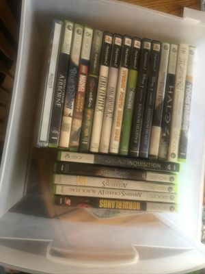 Various PS2/XBOX 360 games for Sale in Loma Linda, CA