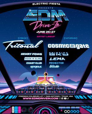 EDM Drive In Concert 6/26/20 - San Antonio TX for Sale in San Antonio, TX