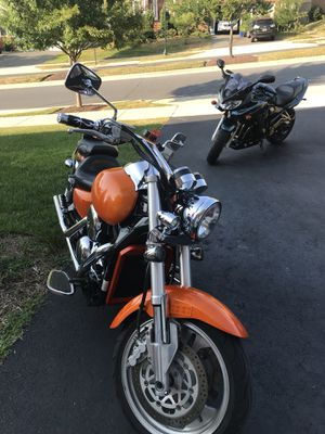 2003 Kawasaki Mean Streak 1500cc, REMOTE ENGINE START, Vance and Hines PIPES, SERVICED for Sale in Clarksburg, MD