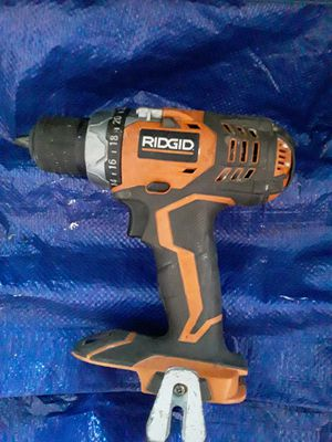 Ridgid drill driver 18v 1/2 ,,,tool only,, for Sale in Los Angeles, CA