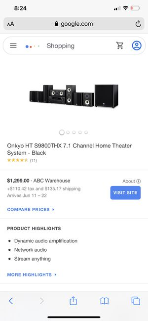 Onkyo THX home theatre system ! For sale or trade for Sale in Kingsburg, CA
