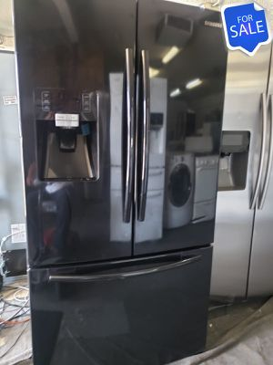 😍😍Refrigerator Fridge Samsung Ice and Water Black #1425😍😍 for Sale in Riverside, CA