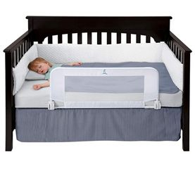 Convertible Crib Toddler Bed Rail Guard with Reinforced Anchor Safety for Sale in Goodyear,  AZ