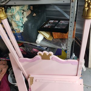 Free FREE FREE Please Read Girls Princess BED Serious INQUIRIES ONLY-CAN PLACE OUTSIDE for Sale in Virginia Beach, VA